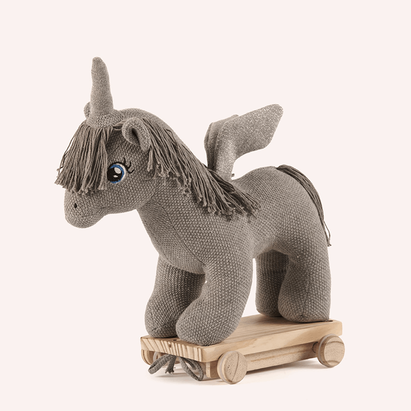 Toy Unicorn on Wheels